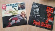 2 LP s Sammlung Frank