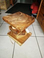 Bücherstapel Tisch Hocker
