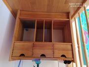 Büromöbel Holz zu verschenken