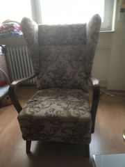 2 alte Sessel