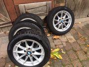 BMW Winterreifen auf Original Alu-Felgen