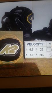Wie neu Velocth CITY K2