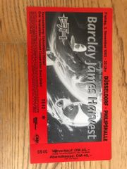 Barclay James Harvest Ticket Konzertkarte