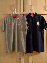 2 LFC Fan-Poloshirts Größe M