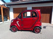 E-Kabinenroller Microcar rot Econelo M1