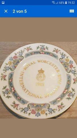 1X Sammelteller Royal Worcester 1985: Kleinanzeigen aus Wöllstadt Nieder-Wöllstadt - Rubrik Sonstige Sammlungen
