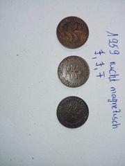1959 2 pfennig J J