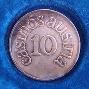 10 Schilling Jeton Österreich Casinos