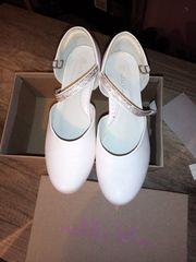 Mädchen kommunionkleid 152 numer Schuhe