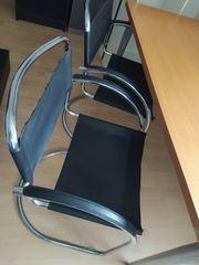 2x Schwing Schreibtischstuhl Arbeits Stuhl