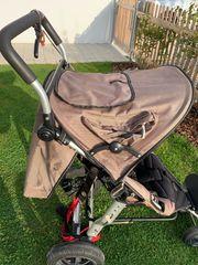 TFK joggster Kinderwagen mit babywanne