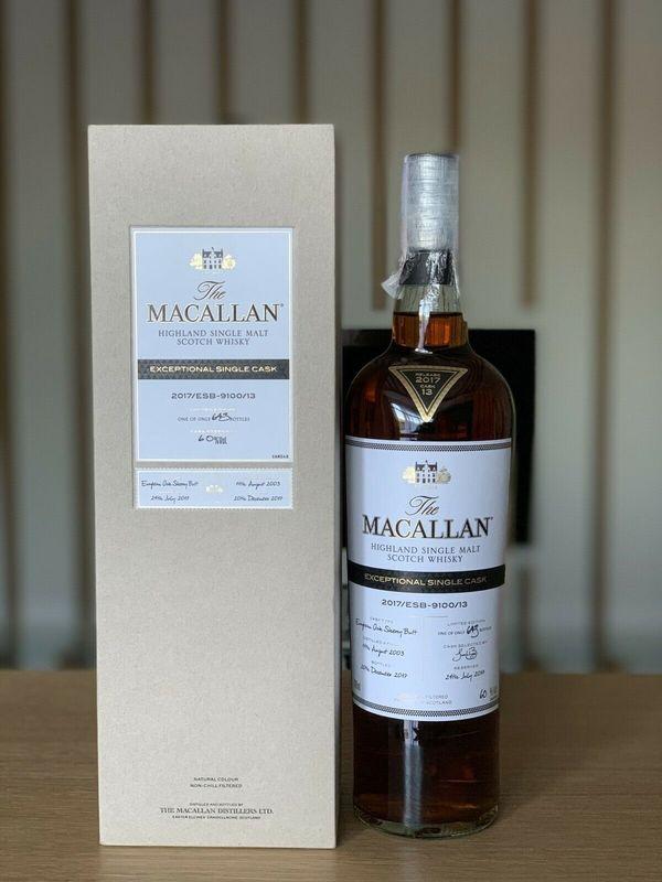 Macallan Exceptional Single Cask 2017