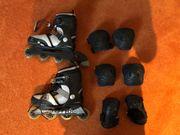 Kinder Inline Skate Schonerset Schuhgröße