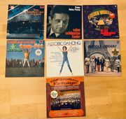 Einige Vinyl Schallplatten LP in