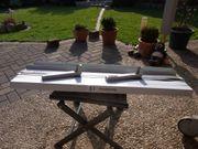2 Aussenfensterbänke Alu grau neu