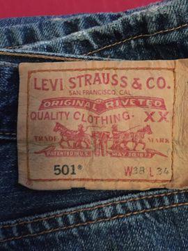 Herrenbekleidung - Vintage-Jeans Levis