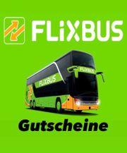 Flixbus Gutscheine Wert 156 Euro