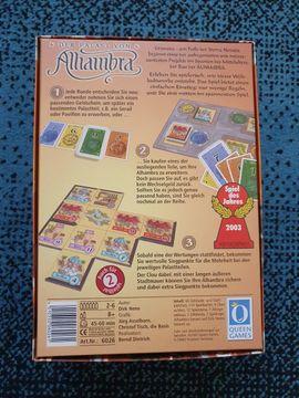Der Palast von Alhambra: Kleinanzeigen aus Friedberg - Rubrik Gesellschaftsspiele