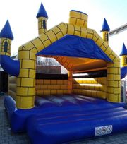 Profi Hüpfburg Eventmodul 6x5m Castle