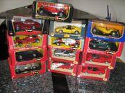 13 verschiedene Modellautos 1 24
