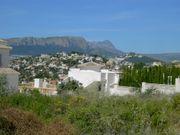 Baugrundstück in Calpe Spanien von