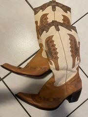 Cowboystiefel neuwertig Gr 40 41