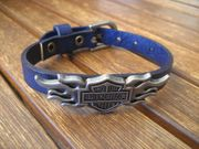 Armband aus Rindleder Harley Davidson