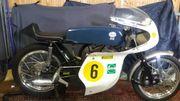 Oldtimer Rennmaschine GREEVES-Silverstone orig 1965