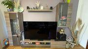 Wohnwand Wohnzimmer TV Schrank