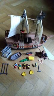 Playmobil Piratenschiff sucht Kapitän