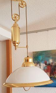 Wohnzimmer-Lampe höhenverstellbar