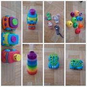 verschiedene Baby Kleinkind Spielsachen
