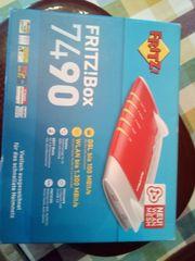 Fritzbox 7490 in original verpackung