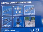 Unbenutzter Elektro-Unkrautvernichter