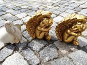 Keramik goldene und einen Weiss
