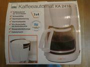 Kaffeemaschine inkl Versandkosten