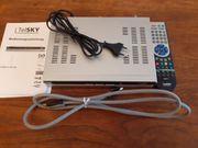 TV-Sat-Receiver TelSKY mit Bedienungsanleitung Fernbedienung