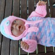 Puppenkleidung Puppen-Set 4 tlg für
