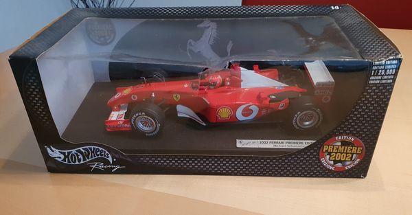 Modellauto Hot Wheels 2002 Ferrari