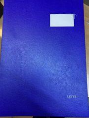 Unterschriftenmappe LEITZ 5700 blau kaum