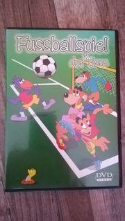 Fussballspiel der Tiere DVD