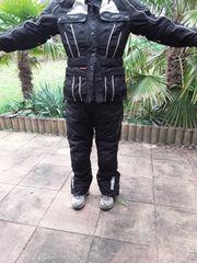 Motorradhose Textil Damen L short