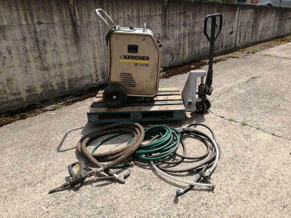 Kärcher ib1580 Trockeneisstrahlgerät aus Werkstattauflösung