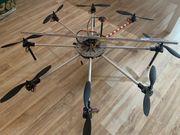 Oktokopter Drohne inkl Bildübertragung GPS