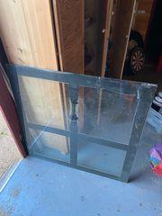 Glasbodenplatte Funkenschutzplatte ESG Glas 1m