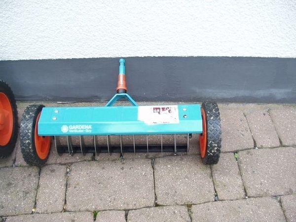Neuwertige Gardena Gartengeräte 2 Schlauchwagen