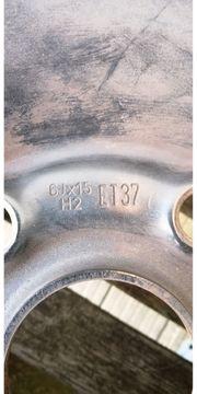 6Jx15 H2 ET37 - 4 Stahlfelgen