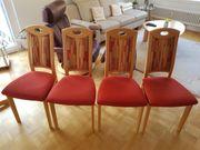 4 gut erhaltene Esszimmerstühle