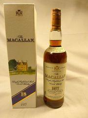 Macallan Whisky 0 7l Jahrgang 1977