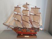 Holzschiff Schiffsmodell Modellschiff USS Constitution